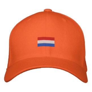 Nederlandse Vlag husdjur - Hup Holland Hup! Broderad Keps