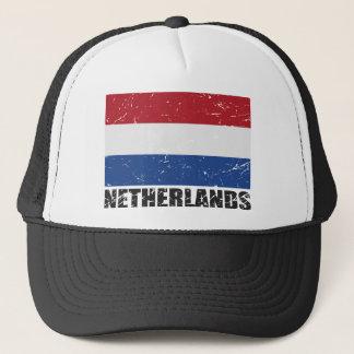Nederländsk vintageflagga truckerkeps
