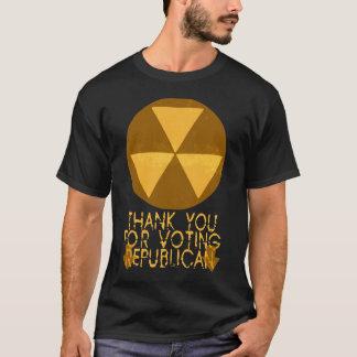 Nedfallskydd -- Republikan T Shirt