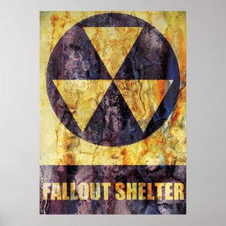 Nedfallskyddaffisch Poster