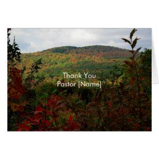 Nedgångbackar landskap pastorgillandekortet hälsningskort