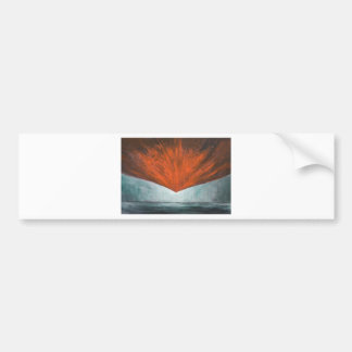 Nedgången av den Phoenix fågeln (abstrakt Bildekal