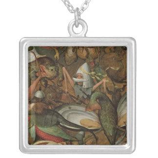 Nedgången av den rebelliska änglar, 1562 halsband med fyrkantigt hängsmycke