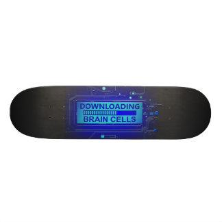 Nedladda hjärnceller skateboard bräda 20,5 cm