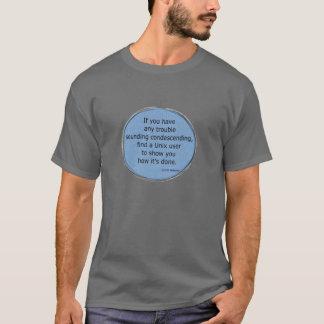 Nedlåtande Unix - Scott Adams T-shirts