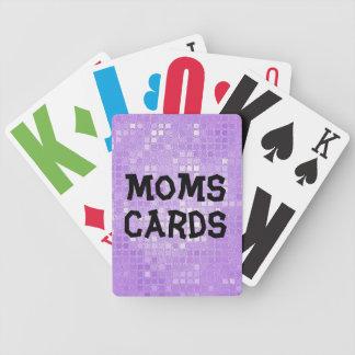 Nedsatt mamma för vision spelkort