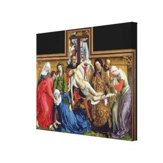 Nedstigning från kor, c.1435 canvastryck