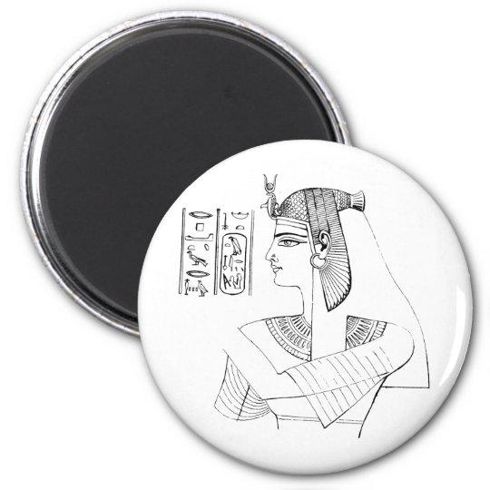 Nefertari Magnet Rund 5.7 Cm