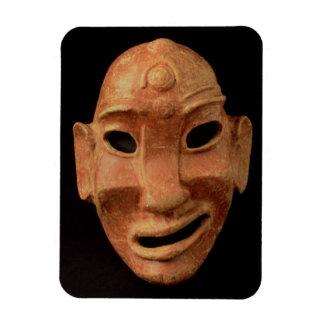 Negroid maskera från Carthage, 7:e-6e århundrade B Magnet