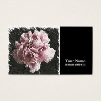 nejlika för impressionismmors dagrosor visitkort