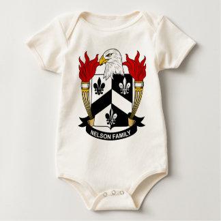 Nelson familjvapensköld bodies för bebisar