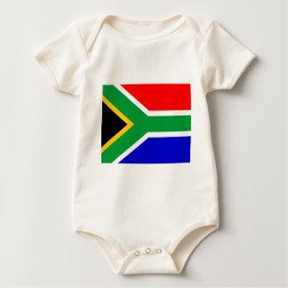 Nelson Mandela South Africa flagga Body För Baby