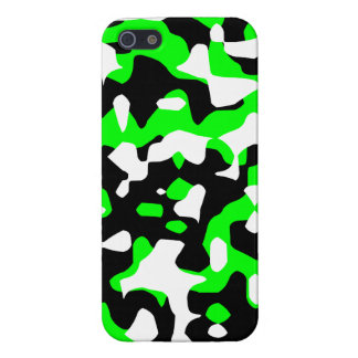 Neon Camo (grönt) för Corey tiger80-tal iPhone 5 Skydd