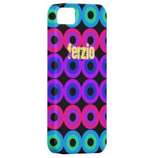 Neon cirklar iPhone 5 cover