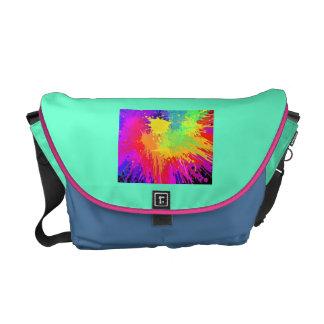 neonfärger hänger lös kurir väskor