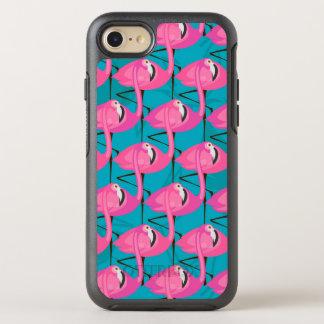 NeonFlamingos två OtterBox Symmetry iPhone 7 Skal