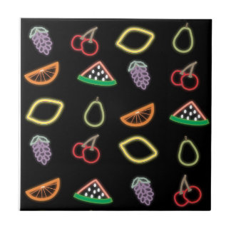 Neonfrukt Kakelplatta
