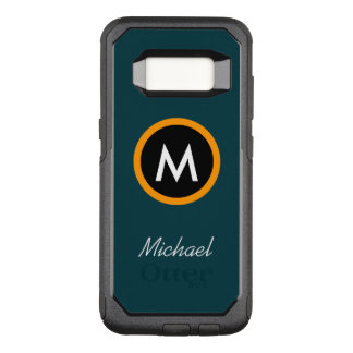 Neoteric Monogramnamnmall OtterBox Commuter Samsung Galaxy S8 Skal