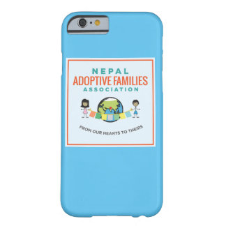 Nepal adoptiv- familjiphone case barely there iPhone 6 skal