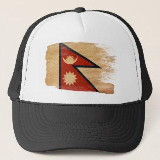 Nepal flaggatruckerkeps keps