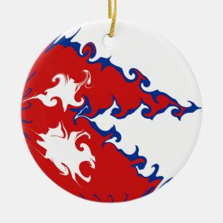 Nepal Gnarly flagga Julgranskula