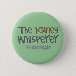 Nephrologistläkaregåvor som är humoristiska standard knapp rund 5.7 cm