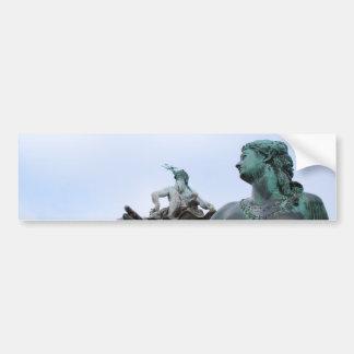 Neptunbrunnen - Neptune fontän - Berlin Bildekal