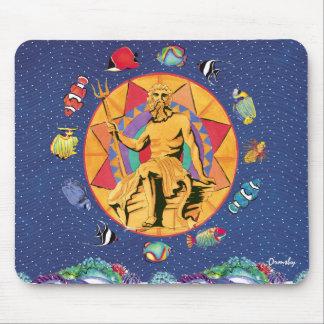 Neptunes kungarike - mousepad musmatta