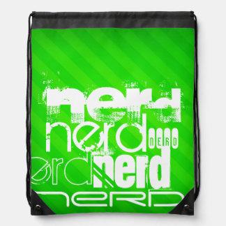 Nerd; Neongröntrandar Vandringssäckar