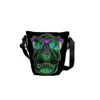 Nerd-nolla-saur-oss mini- ryggsäck kurir väskor