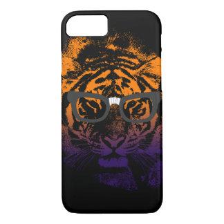 Nerdy tiger i fodral för iPhone 7 för