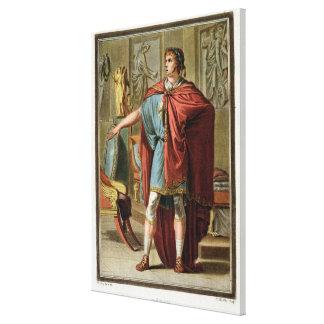 Nero dräkt för 'Britannicus Canvastryck