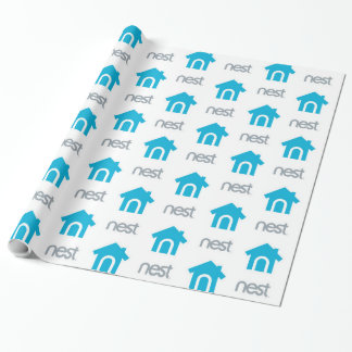 Nest Logo Wrapping Paper Presentpapper