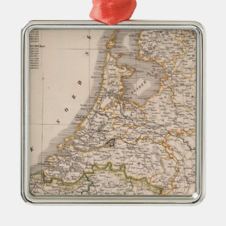 Netherland Belgien Julgransprydnad Metall