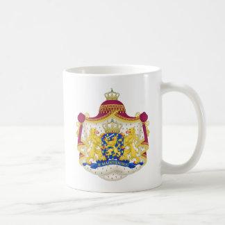 Netherlands vapensköldmugg kaffemugg