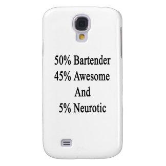 Neurotiker 45 och 5 enorm Bartender för 50 Galaxy S4 Fodral
