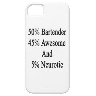 Neurotiker 45 och 5 enorm Bartender för 50 iPhone 5 Cover