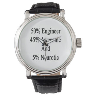Neurotiker 45 och 5 enorm ingenjör för 50 armbandsur