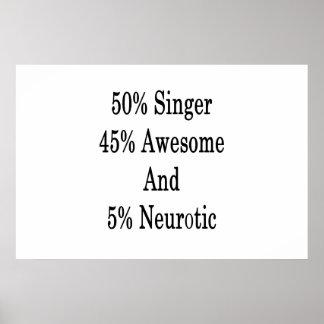 Neurotiker 45 och 5 enorm sångare för 50 poster