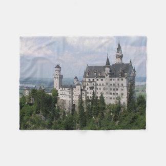 Neuschwanstein slott fleecefilt