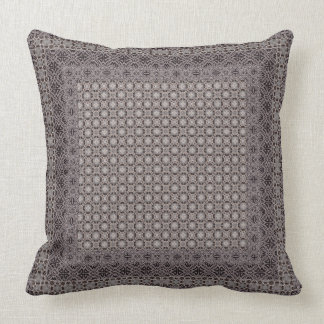 Neutrala geometriska mönster kudde