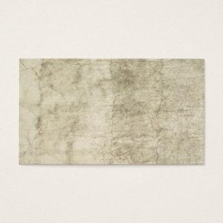 Neutralt för mall för murbrukantikvitetpapper tom visitkort