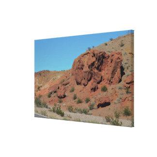 Nevada berg canvastryck