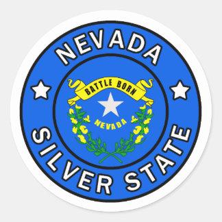 Nevada Runt Klistermärke