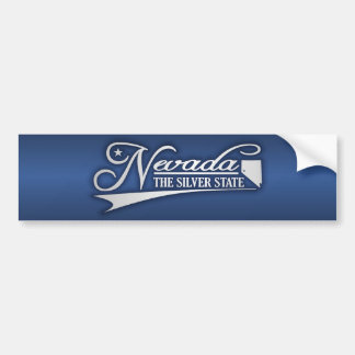 Nevada som är statlig av min bildekal