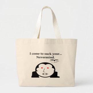 Nevermind vampyr tote bags