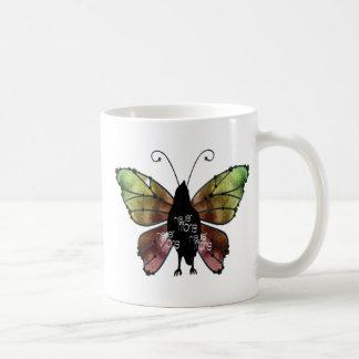 Nevermore korpsvart fjäril x3 kaffemugg
