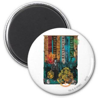 Neville Longbottom Collage 1 Magnet Rund 5.7 Cm
