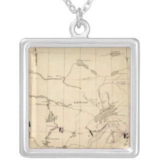 New Britain Amerika 35 Silverpläterat Halsband