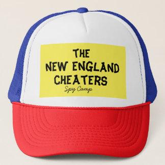 New England cheaters Truckerkeps